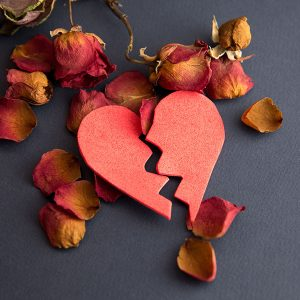broken heart graphic