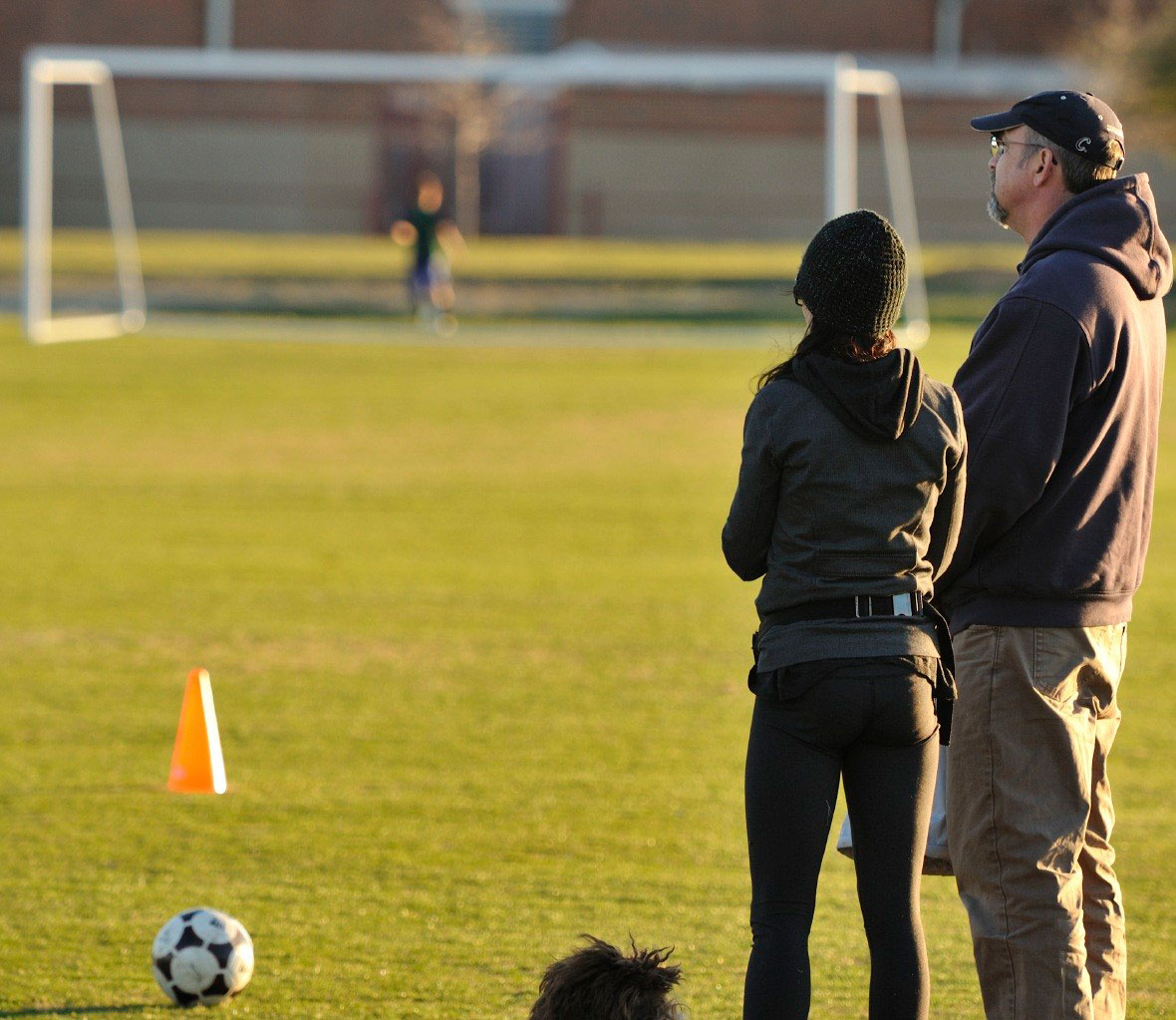 parents at soccer game